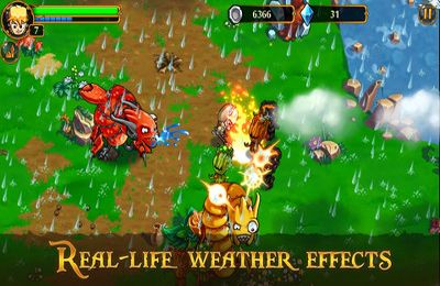 Screenshots do jogo League of Heroes para iPhone, iPad ou iPod.