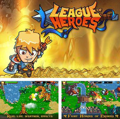 In addition to the game Defen-G Astro for iPhone, iPad or iPod, you can also download League of Heroes for free.