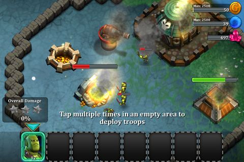 Kostenloser Download von League of shadows für iPhone, iPad und iPod.