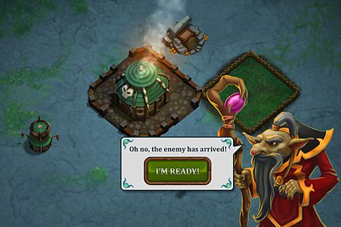 Screenshots vom Spiel League of shadows für iPhone, iPad oder iPod.