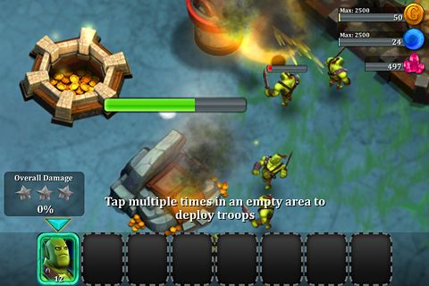 Screenshots of the League of shadows game for iPhone, iPad or iPod.