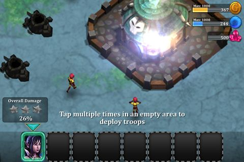 Capturas de pantalla del juego League of shadows para iPhone, iPad o iPod.