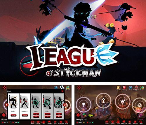 Download League of Stickman iPhone free game.