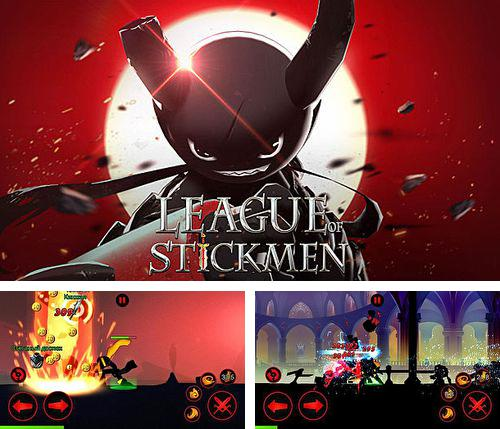 In addition to the game Swing copters for iPhone, iPad or iPod, you can also download League of stickmen for free.
