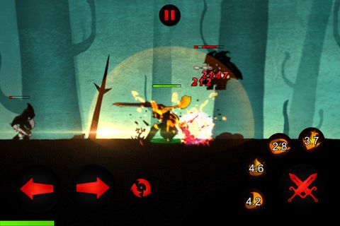 Capturas de pantalla del juego League of sticks para iPhone, iPad o iPod.