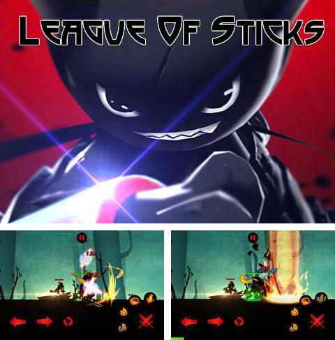 In addition to the game Criminal chase for iPhone, iPad or iPod, you can also download League of sticks for free.