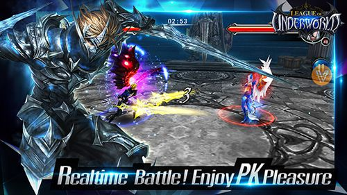 Download League of underworld iPhone free game.