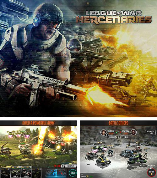 In addition to the game Monster Mania for iPhone, iPad or iPod, you can also download League of war: Mercenaries for free.