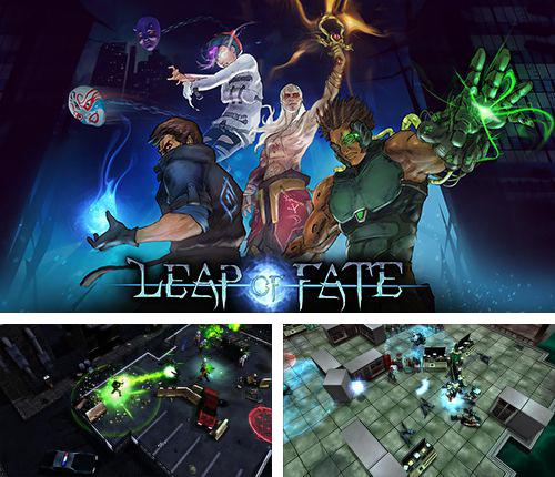 In addition to the game iSlash: Heroes for iPhone, iPad or iPod, you can also download Leap of fate for free.