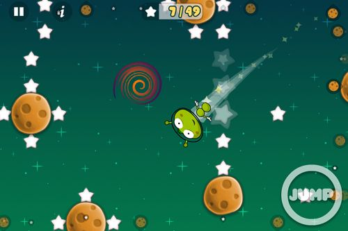 Descarga gratuita de Leap worm para iPhone, iPad y iPod.