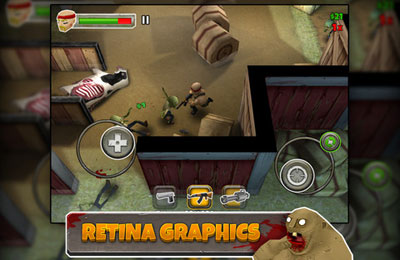 Screenshots do jogo Left 2 Die para iPhone, iPad ou iPod.