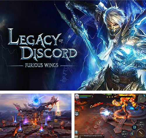 除了 iPhone、iPad 或 iPod 绿色星球游戏,您还可以免费下载Legacy of discord: Furious wings, 。