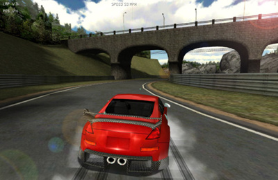 Capturas de pantalla del juego Legal Speed Racing para iPhone, iPad o iPod.