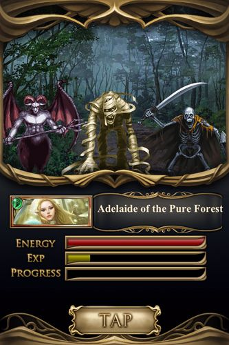 Screenshots vom Spiel Age of warriors: The frozen Elantra für iPhone, iPad oder iPod.