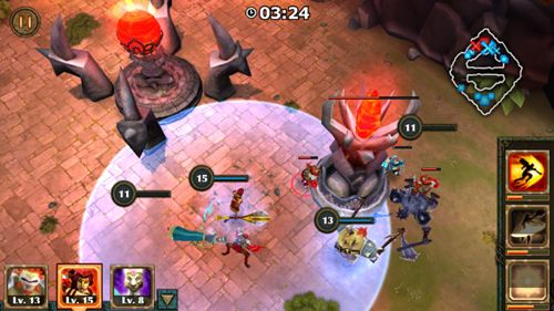 Download Legendary heroes iPhone free game.