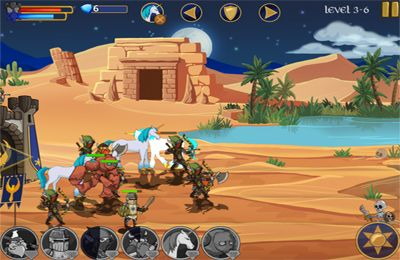 Descarga gratuita de Legendary Wars para iPhone, iPad y iPod.