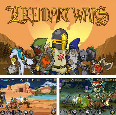 In addition to the game GoldMan for iPhone, iPad or iPod, you can also download Legendary Wars for free.