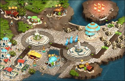 Screenshots vom Spiel Legends of Atlantis: Exodus für iPhone, iPad oder iPod.