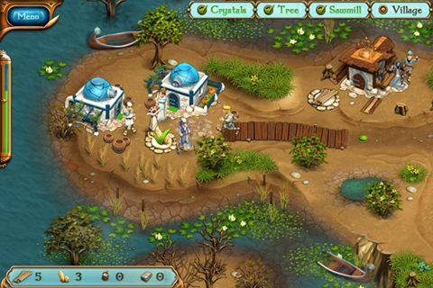 iPhone、iPad 或 iPod 版Legends of Atlantis: Exodus premium游戏截图。