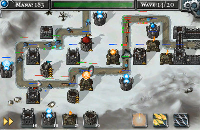 Screenshots vom Spiel Legends of Elendria: The Frozen Maiden für iPhone, iPad oder iPod.
