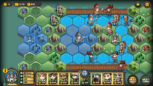 下载免费 iPhone、iPad 和 iPod 版Legion wars: Tactics strategy。