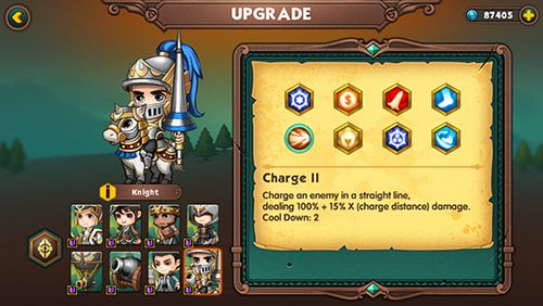 iPhone、iPad 或 iPod 版Legion wars: Tactics strategy游戏截图。