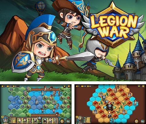 In addition to the game Neighbours from hell: Season 1 for iPhone, iPad or iPod, you can also download Legion wars: Tactics strategy for free.