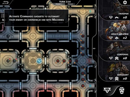Download Legions of steel iPhone free game.