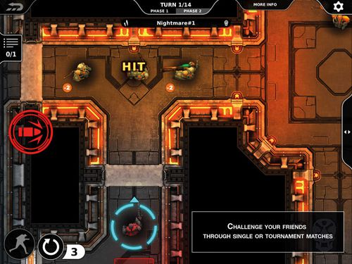 Screenshots do jogo Legions of steel para iPhone, iPad ou iPod.