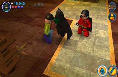 Download LEGO Batman: DC Super Heroes iPhone free game.