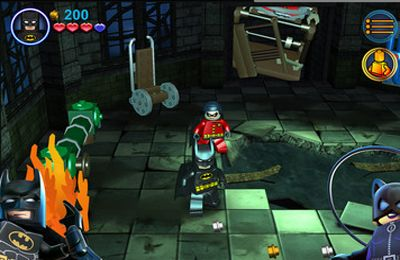 Écrans du jeu LEGO Batman: DC Super Heroes pour iPhone, iPad ou iPod.