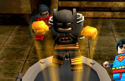 Геймплей LEGO Batman: DC Super Heroes для Айпад.
