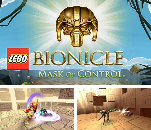 除了 iPhone、iPad 或 iPod 小鬼精灵游戏,您还可以免费下载Lego Bionicle: Mask of control, 。