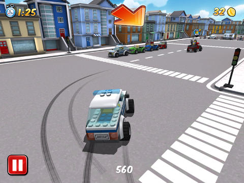 Игра Dubai racing для iPhone