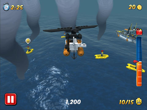 Écrans du jeu Lego city: My city pour iPhone, iPad ou iPod.