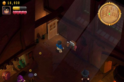 Screenshots vom Spiel Lego Harry Potter: Years 1-4 für iPhone, iPad oder iPod.