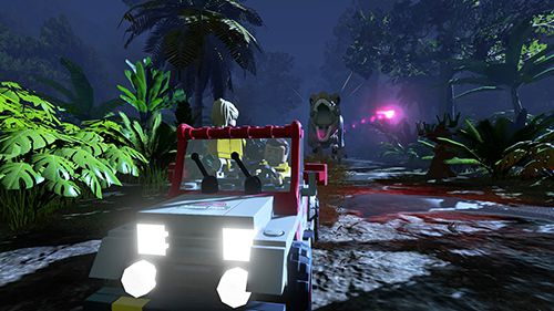 Download Lego: Jurassic world iPhone free game.