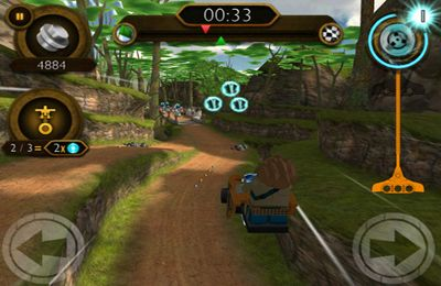 Écrans du jeu LEGO Legends of Chima: Speedorz pour iPhone, iPad ou iPod.