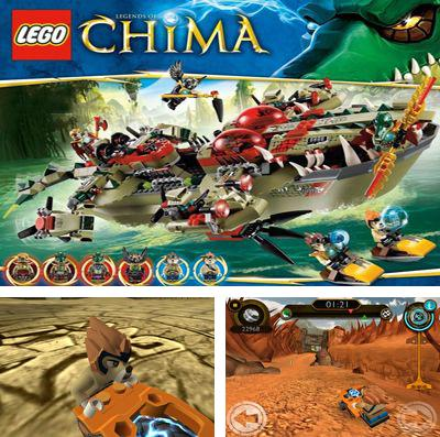 In addition to the game Hamstrong: Castle run for iPhone, iPad or iPod, you can also download LEGO Legends of Chima: Speedorz for free.