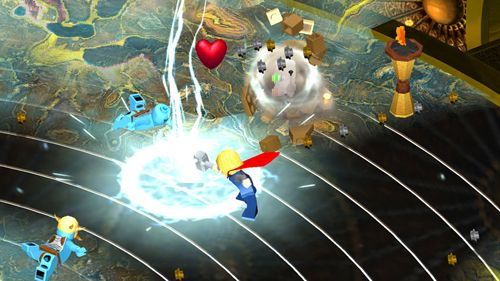 Screenshots vom Spiel Lego Marvel super heroes: Universe in peril für iPhone, iPad oder iPod.