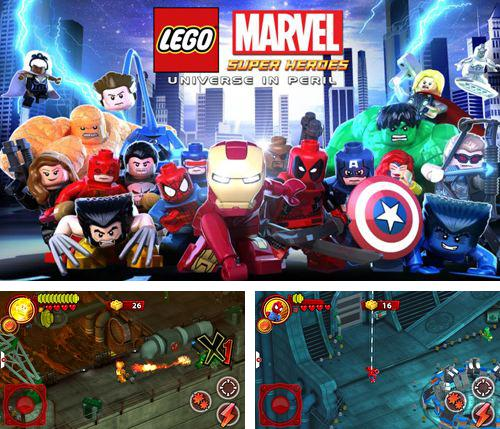 In addition to the game Ikaros for iPhone, iPad or iPod, you can also download Lego Marvel super heroes: Universe in peril for free.