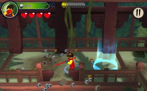 Скачать игру Lego Ninjago: Shadow of ronin для iPad.
