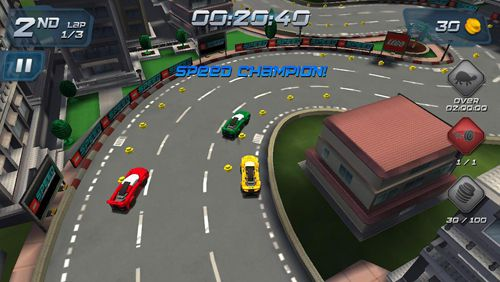 Screenshots of the Lego: Speed champions game for iPhone, iPad or iPod.
