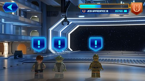 Screenshots vom Spiel Lego Star wars: Force builder für iPhone, iPad oder iPod.