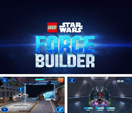 In addition to the game Scribblenauts: Unlimited for iPhone, iPad or iPod, you can also download Lego Star wars: Force builder for free.