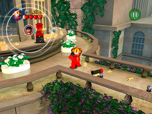 Screenshots of the LEGO Star wars: The complete saga game for iPhone, iPad or iPod.