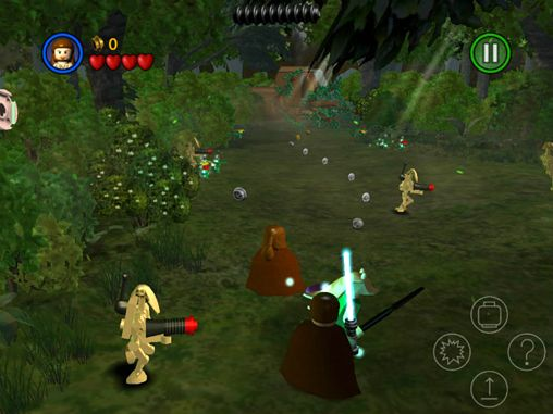 Screenshots vom Spiel LEGO Star wars: The complete saga für iPhone, iPad oder iPod.