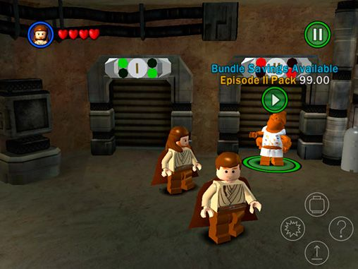 Download LEGO Star wars: The complete saga iPhone free game.