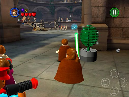 Free LEGO Star wars: The complete saga download for iPhone, iPad and iPod.