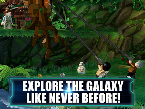 Téléchargement gratuit de Lego Star wars: The force awakens pour iPhone, iPad et iPod.